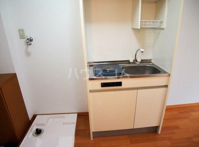 リバティヒル片倉 102号室のキッチン