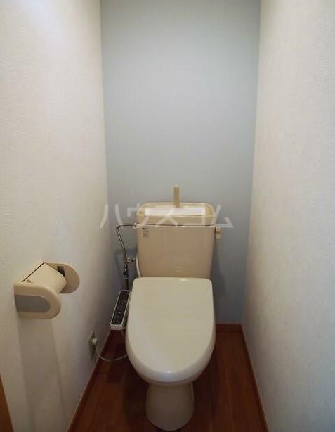 リバティヒル片倉 102号室のトイレ