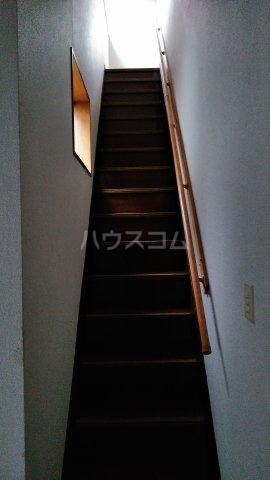 ススキヤアパートB棟 201号室の玄関