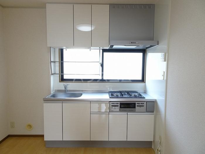 ラ・プランタン A 101号室のキッチン