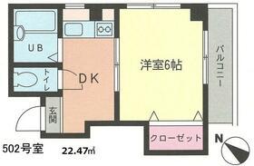 アドヴァンスマンション・302号室の間取り