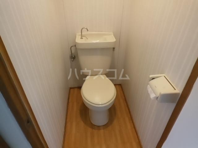 パレス豊栄 2-2号室のトイレ