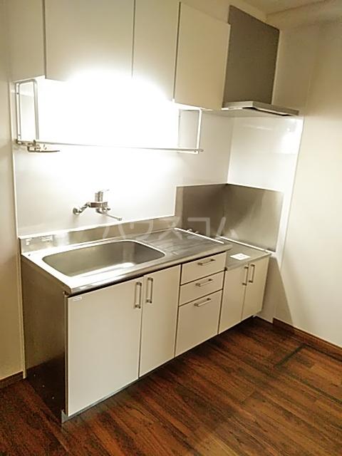 ツインビル 206号室のキッチン