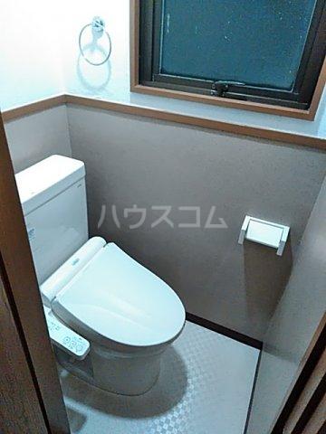 ツインビル 206号室のトイレ