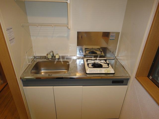 アザレア館 202号室のキッチン