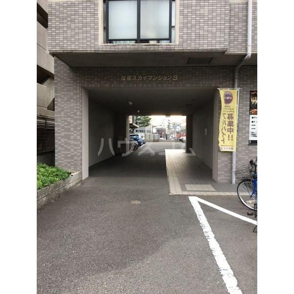 松重スカイマンション3の駐車場