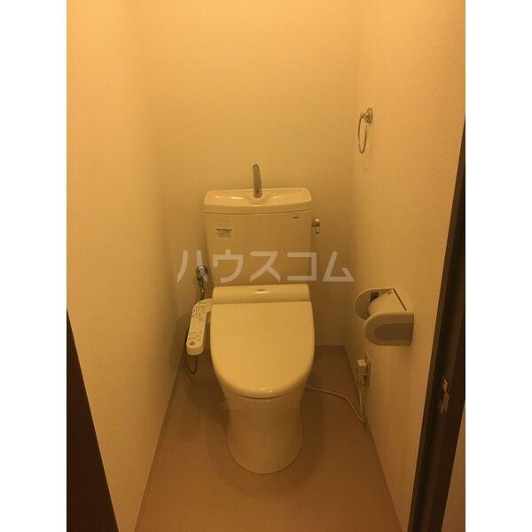 松重スカイマンション3のトイレ