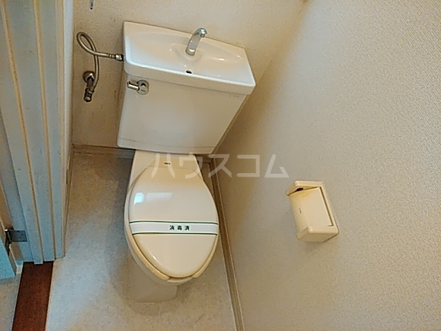 ベアバレーハウスのトイレ