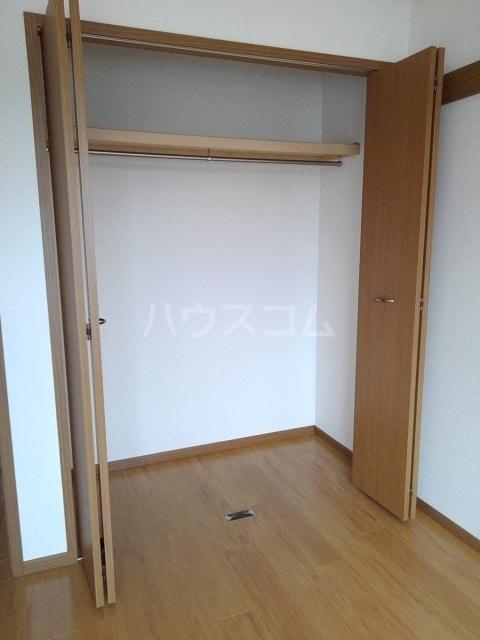セルヴィールB 01020号室の収納