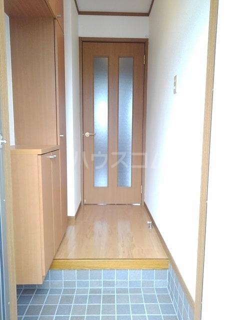 セルヴィールB 01020号室の玄関