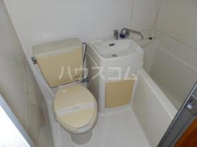 エクセル厚木B 205号室の洗面所