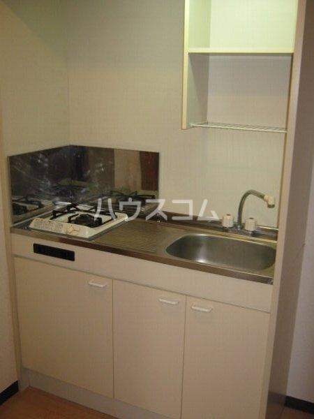 リブレア中部大学 A203号室のキッチン