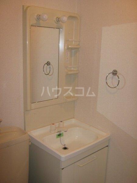 リブレア中部大学 A203号室の洗面所