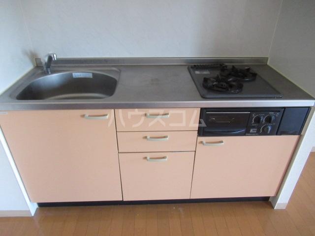 CLAIR 201号室のキッチン