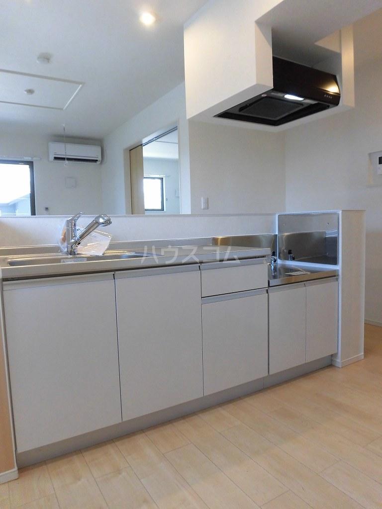 グランディール 02040号室のキッチン