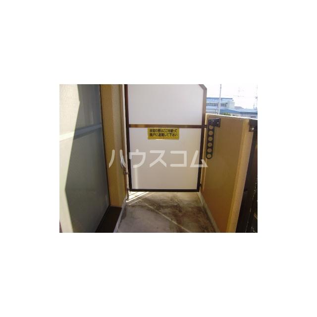 マーメイド湘南 205号室のバルコニー
