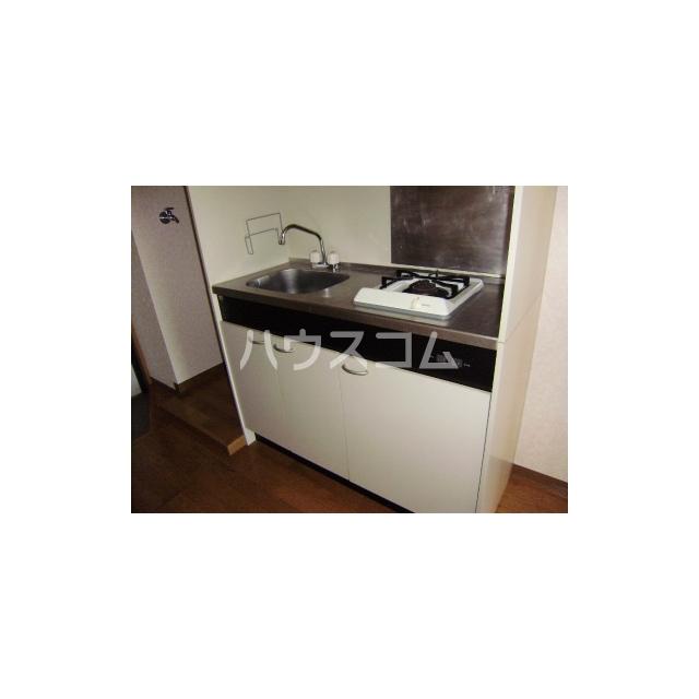 マーメイド湘南 205号室のキッチン
