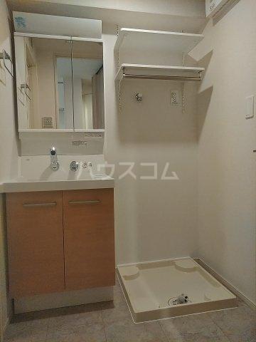 サイドパーク 02070号室の洗面所