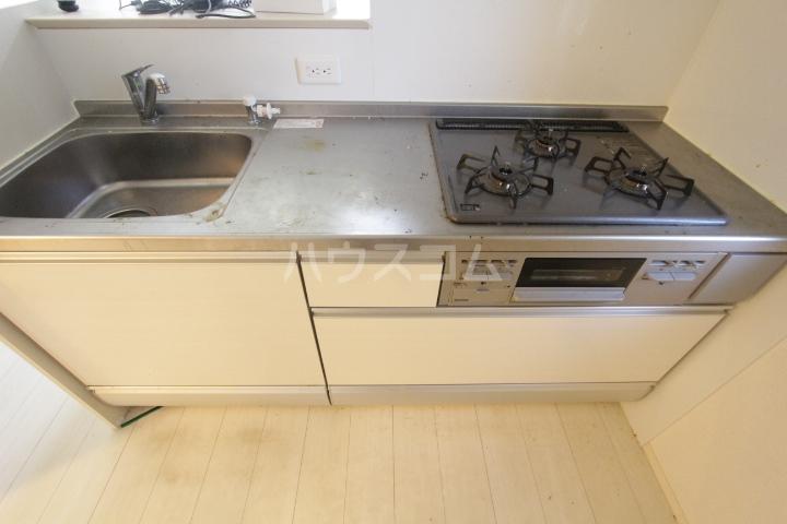 あいりす浄水 1-F号室のキッチン