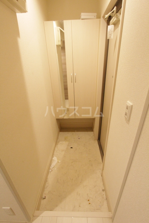 あいりす浄水 1-F号室の玄関