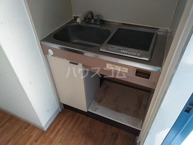 ガヴァナーズアームスC 101号室のキッチン