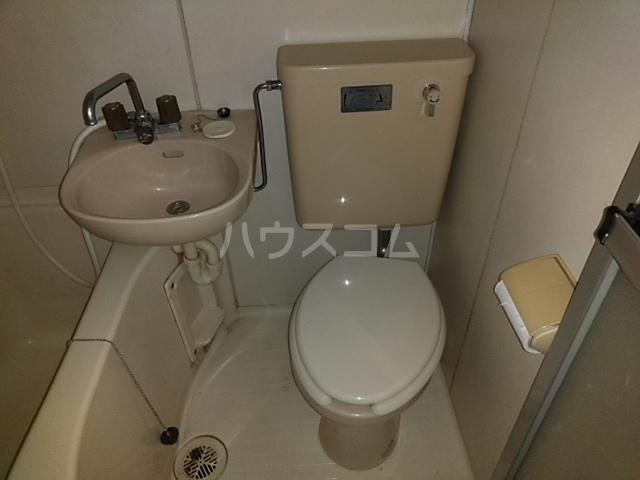ガヴァナーズアームスC 101号室のトイレ