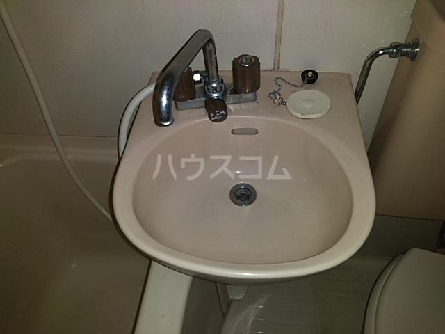 ガヴァナーズアームスC 101号室の洗面所