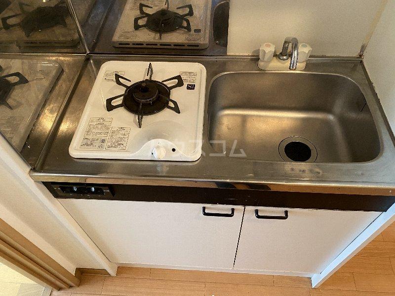 サンライズ蒲田 303号室のキッチン