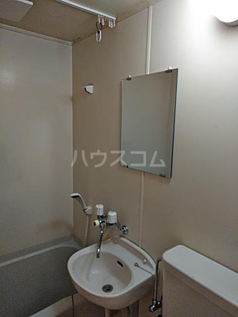 フラッグハイツ 101号室の洗面所