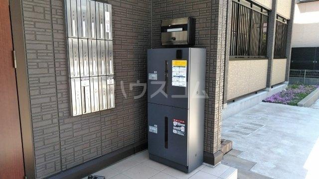 D-room松葉 105号室の洗面所