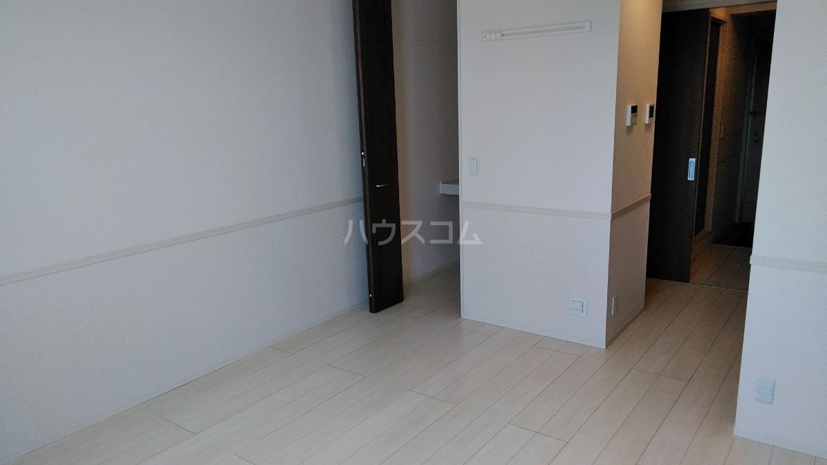 D-room松葉 205号室のベッドルーム