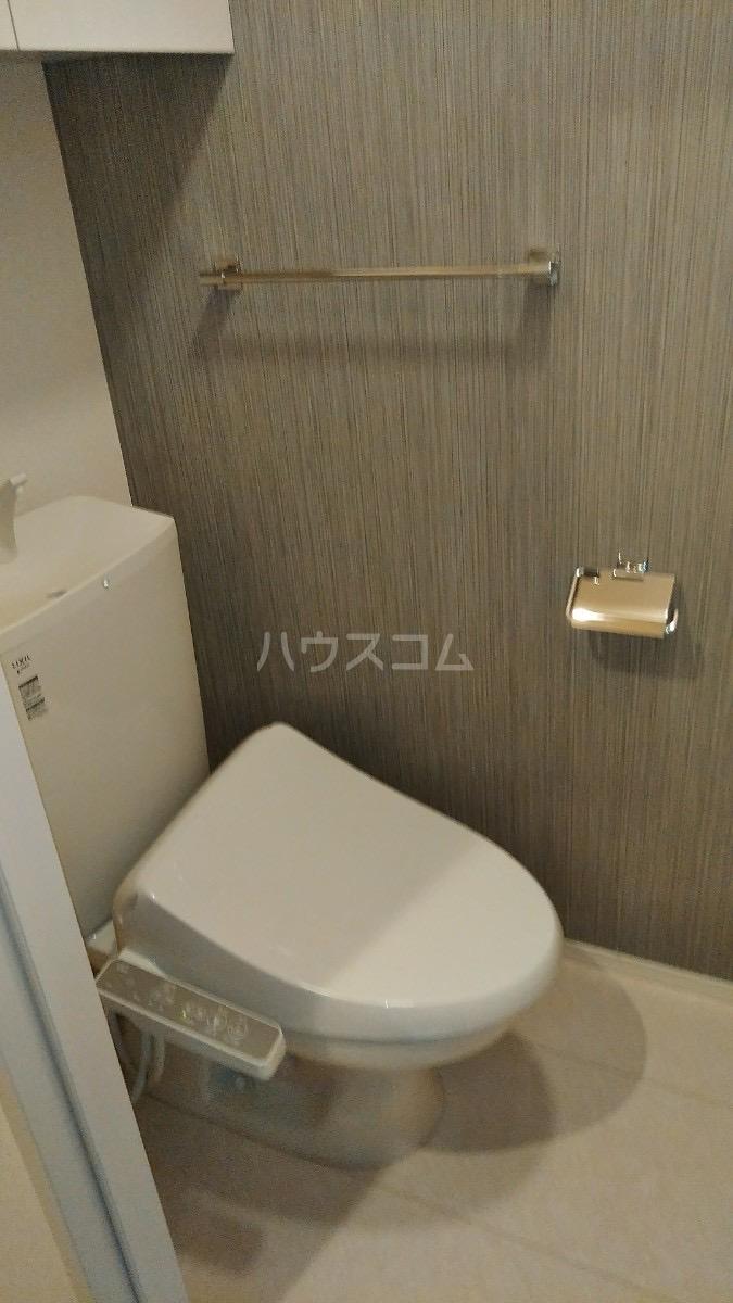 D-room松葉 205号室のトイレ