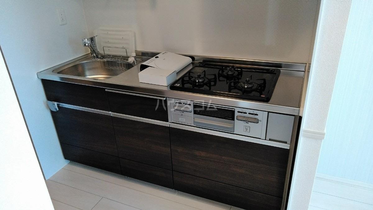 D-room松葉 205号室のキッチン