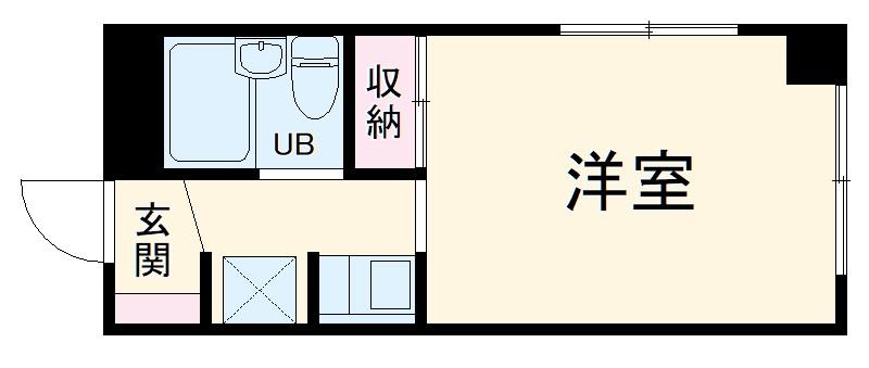 アベニール誠晃・108号室の間取り