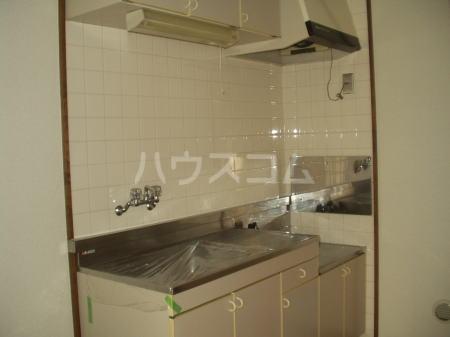 リバーサイド 02020号室のキッチン
