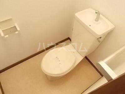 リバーサイド 02020号室のトイレ