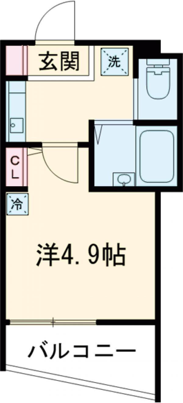 PROBANK墨田・202号室の間取り