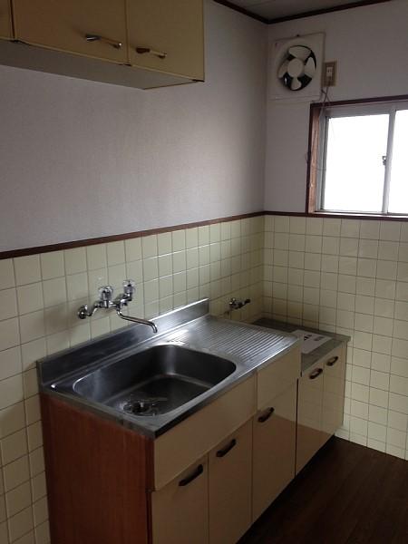 コーポみずたに 205号室のキッチン
