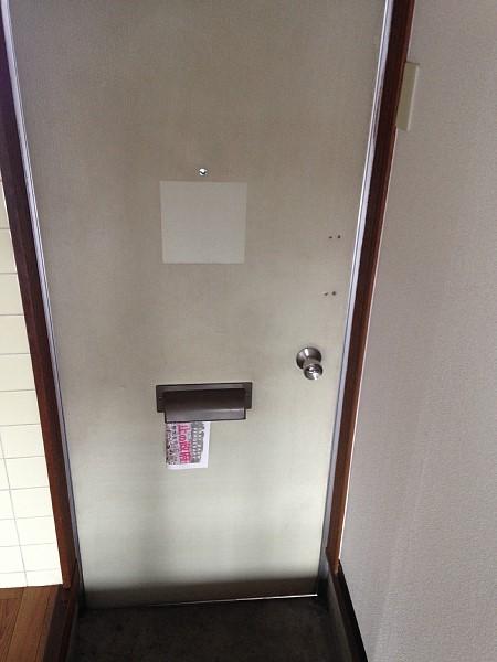 コーポみずたに 205号室の玄関