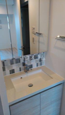ザ・パークハビオ駒込 405号室の洗面所
