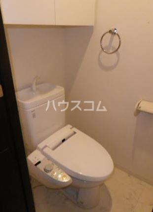 レクシオシティ王子神谷 704号室のトイレ