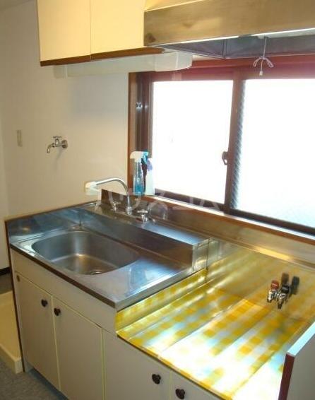 鈴木マンション 402号室のキッチン
