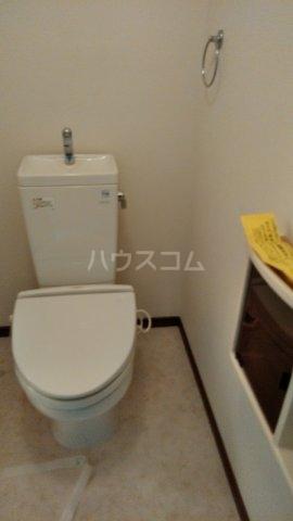 パークサイド鈴木 302号室のトイレ