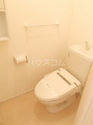 フェアルージュMK 01010号室のトイレ
