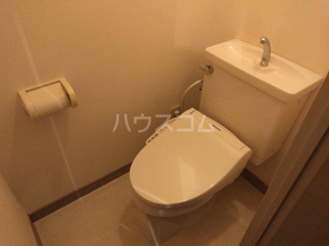 ドルチェ芦屋 110号室のトイレ