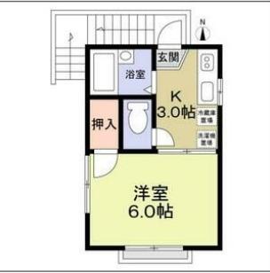 戸塚区平戸3丁目併用住宅 201号室の間取り