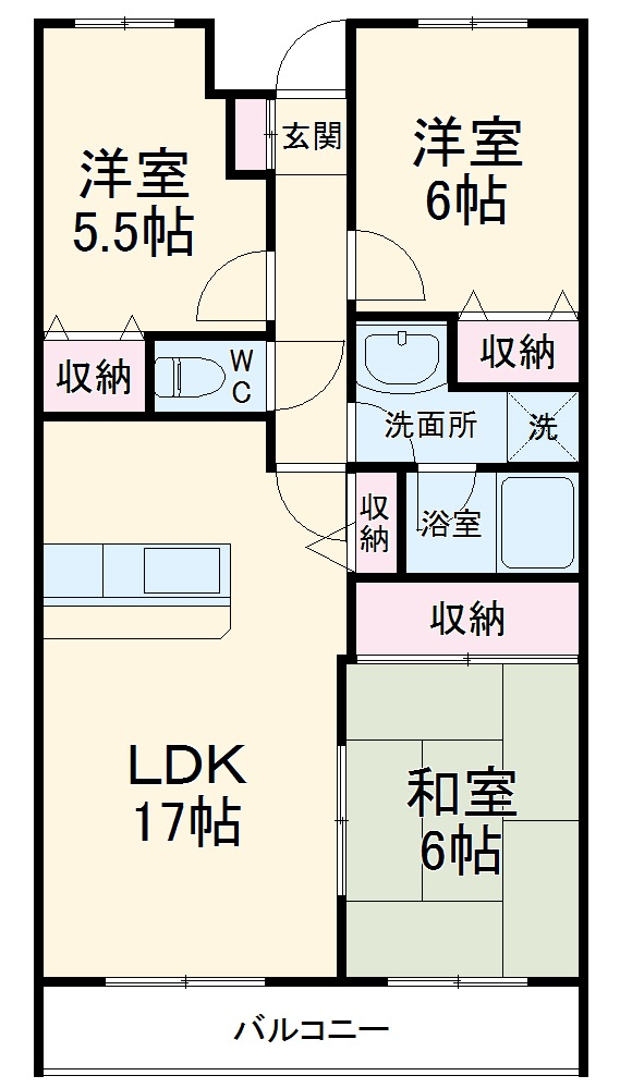 ReDEAL横浜大岡レジデンス・102号室の間取り