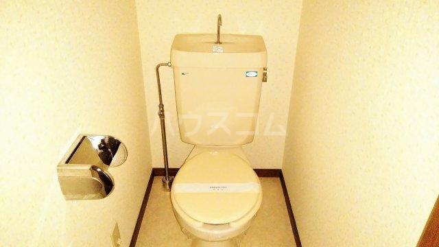 ベイウイング 402号室のトイレ