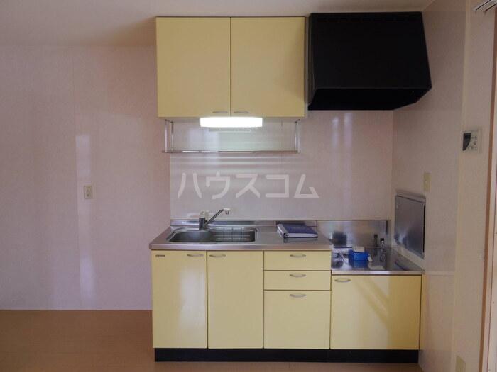 ボヌールA 101号室のキッチン