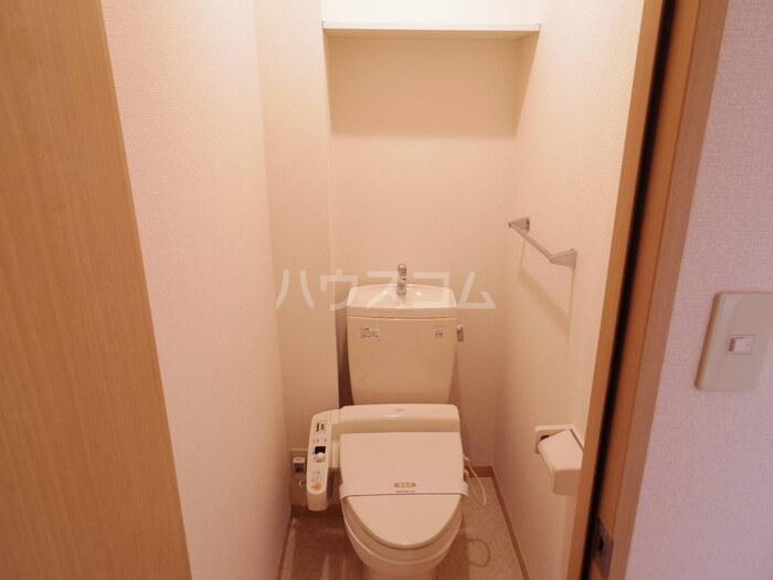 ボヌールA 101号室のトイレ